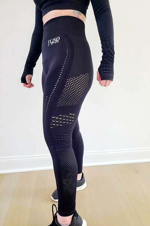 Juno Athletics Women's Laser Cut Leggings