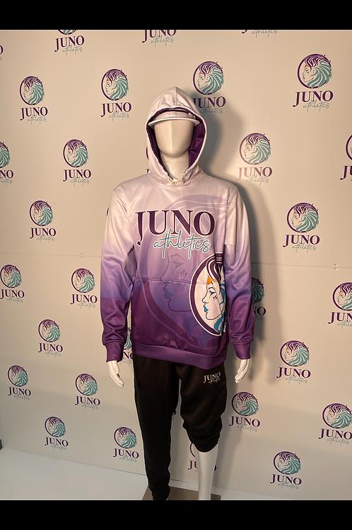 Purple Fade Full Dye Sublimated Hoodie