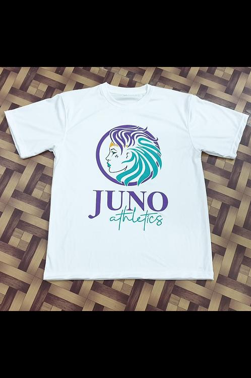 Juno Athletics White Poly Tee