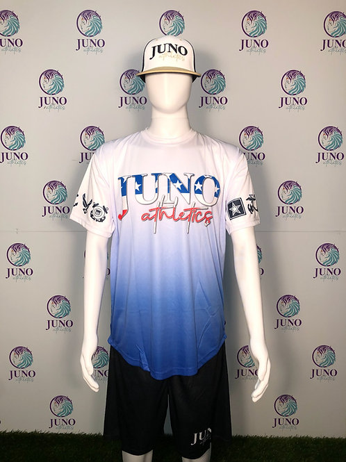 Juno Athletics Flag Poly Tee