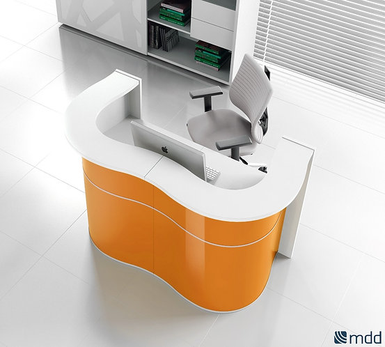 WAVE RECEPTION DESK BY MDD