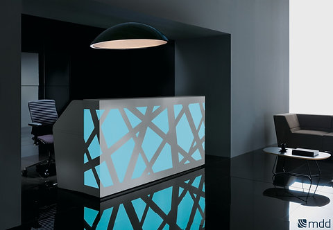Zig-Zag Reception Desk By MDD