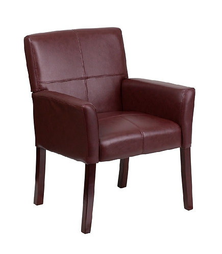 DIPLOMATIC SERIES - LEATHER EXECUTIVE SIDE CHAIR