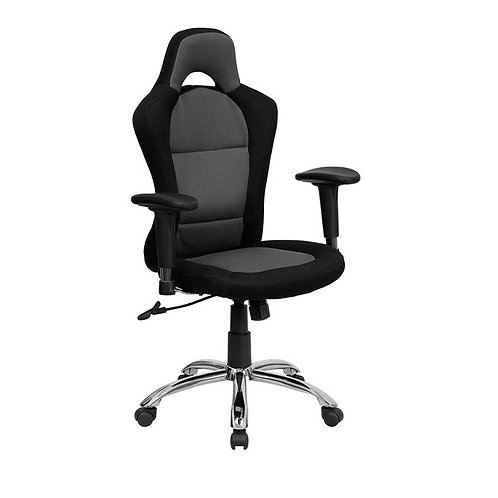 RACE CAR INSPIRED BUCKET SEAT OFFICE CHAIR
