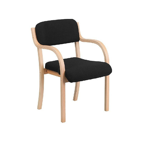 CONTEMPORARY WOOD SIDE CHAIR