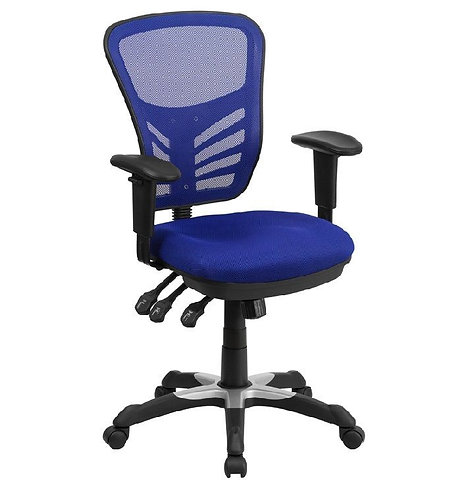 EZOFFICE COLLECTION - MIDBACK MESH OFFICE CHAIR WITH TRIPLE PADDLE CONTROL