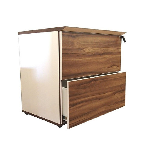 UNIQ 2 DRAWERS LATERAL FLIE CABINET