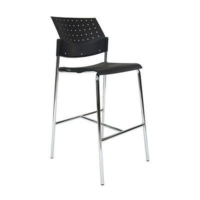 EZOFFICE COLLECTION - LONG LEGS STACK CHAIR