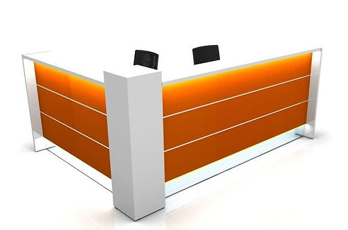 VALDE RECEPTION DESK - L-SHAPED VERSION BY MDD