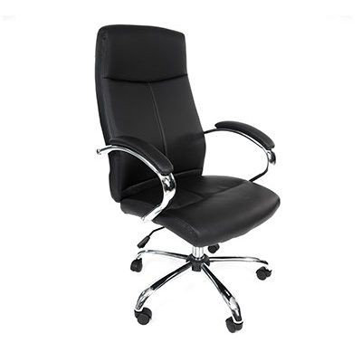 EZOFFICE COLLECTION - HIGH BACK LEATHER CHAIR