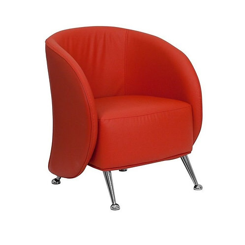 JET SERIES - RED LEATHER CHAIR