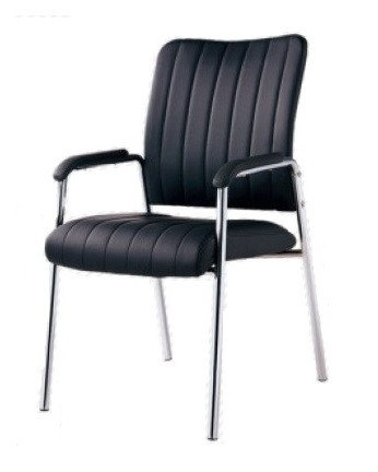 LINEAR COLLECTION - CHROME GUEST CHAIR