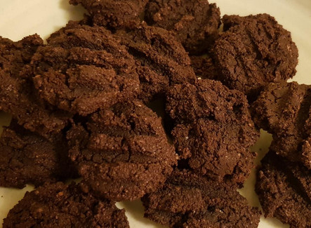 עוגיות שוקולד שקדים