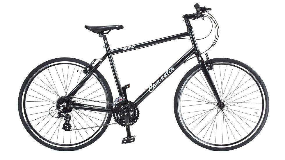 GOKU Alloy Commuters  24 Speed Bike - Chameleon Green