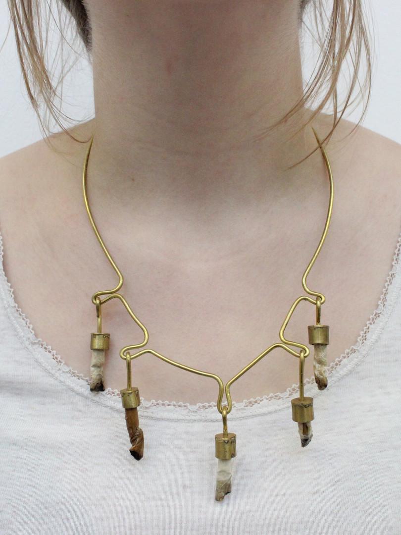 Cigarette Necklace