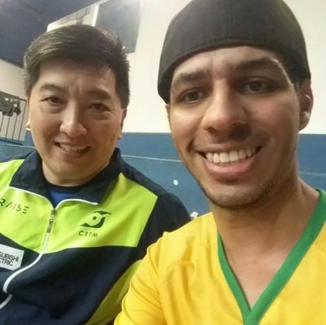 Ao lado de um dos melhores MESATENISTAS do mundo. 🏓🥇🏆 #hugohoyama #tenisdemesa #tabletennis #timebrasil #Medalista #Campeao #juntospeloesporte #cbtm #brasil #sports #sportsphotography #rededoesporte #saocaetanodosul