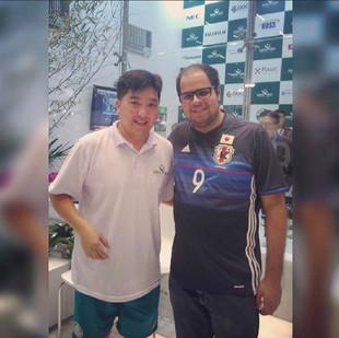 O mito brasileiro do Tênis de Mesa. #HugoHoyama #ÉDoBrasil!!!!!