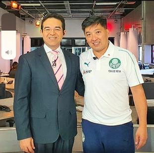 O gênio brasileiro do Tênis de Mesa. #hugohoyama #campeao #jornalismo #tvmirante #tvglobo #tv #tenisdemesa #trofeumirante #esporte #maranhão #eupossovocepodenospodemos