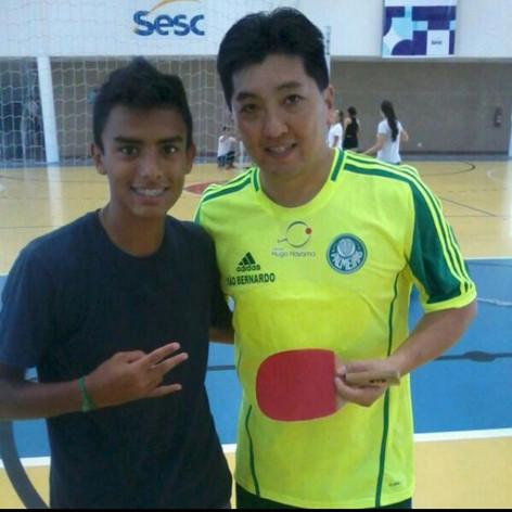 #HugoHoyama #top #tenisdemesa #sesc