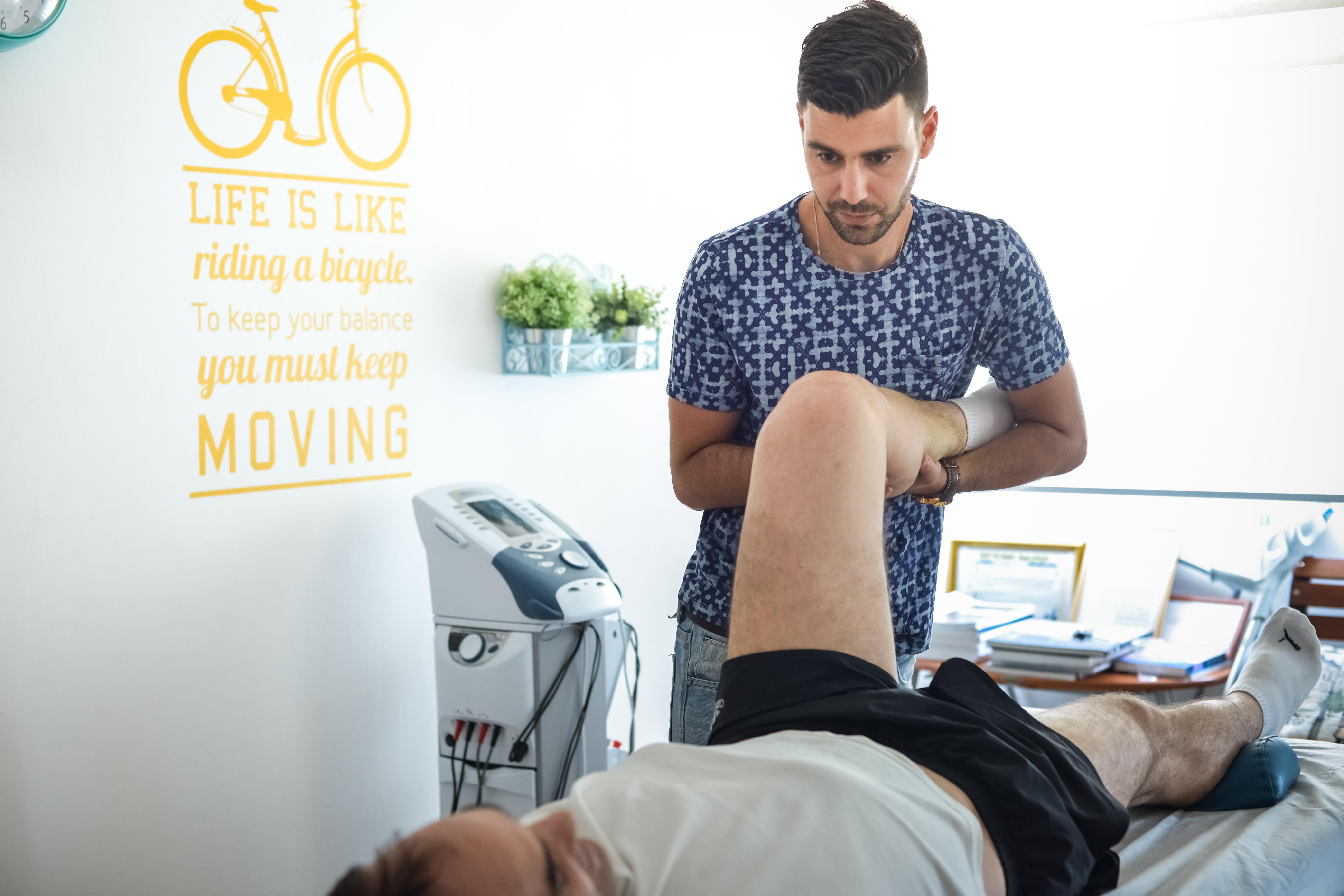 טיפול ברך לאחר קרע ברצועה