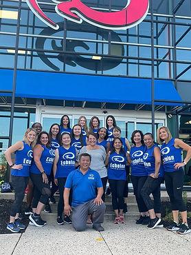 Team members at Echelon Health & Fitness in Voorhees, NJ