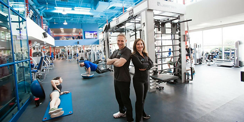 Owners of Be Fit Chiro at Echelon Health & Fitness in Voorhees, NJ
