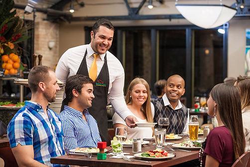 Members using MemberPERX at Rodizio Grill in Voorhees, NJ