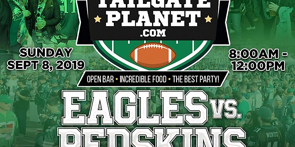 The Green Legion Tailgate For The Eagles Home Opener &  Earn 50,000 Entries