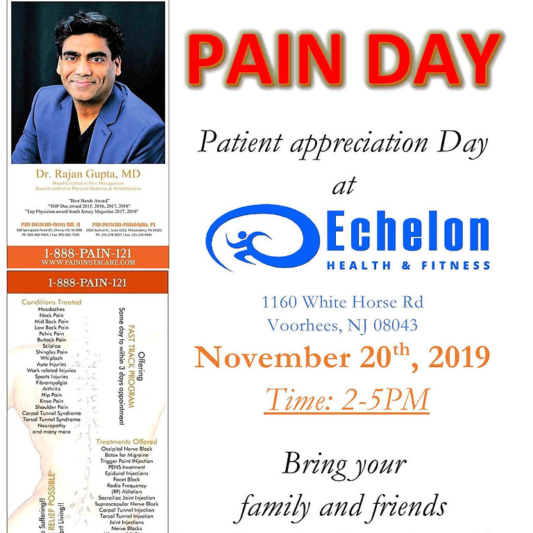Patient Appreciation Day With Dr. Gupta From Pain Instacare