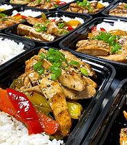 Food from Clean Plate Meal Prep at Echelon Health & Fitness in Voorhees, NJ
