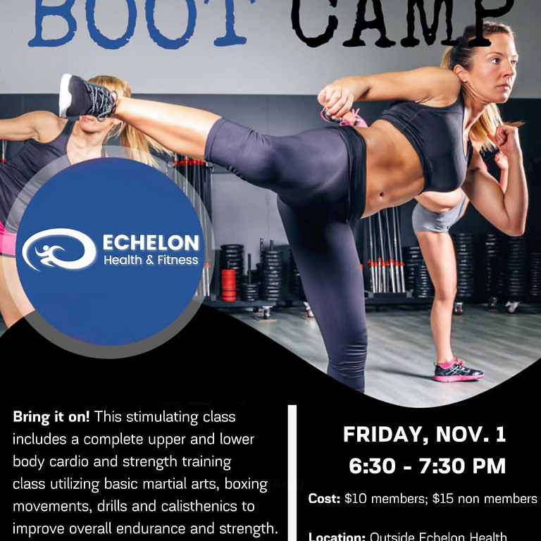 Friday Night Jam: Boot Camp With Leah & Tricia