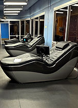 HydroMassage lounge chairs at Echelon Health & Fitness in Voorhees, NJ