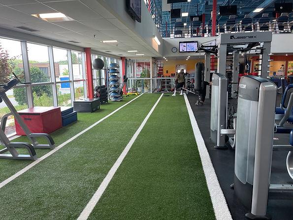 The gym floor at Echelon Health & Fitness in Voorhees, NJ