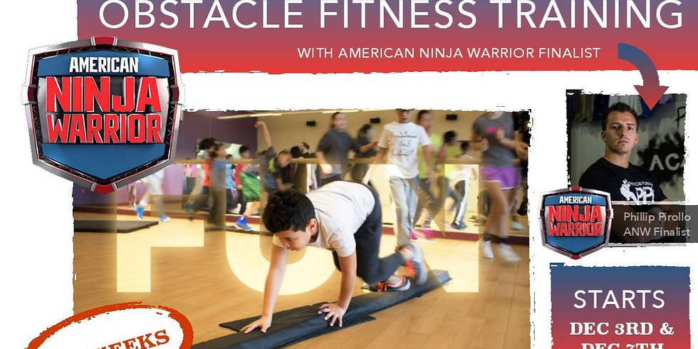 Obstacle Fitness Training with American Ninja Finalist