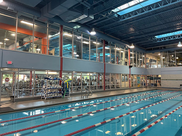 5 lane lap pool at Echelon Health & Fitness in Voorhees, NJ