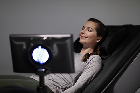 HydroMassage lounge chair at Echelon Health & Fitness in Voorhees, NJ