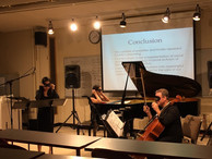 Doctoral lecture recital, with pianist Katie Leung and cellist Andy Smith (2016)
