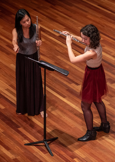 Flute Masterclass at the Schwob School of Music, Columbus State University (2019)