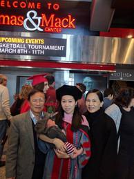 Doctoral graduation (2016)