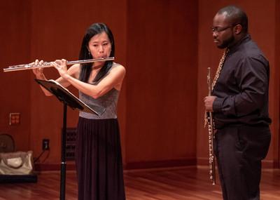 Flute Masterclass at the Schwob School of Music, Columbus State University (2019)