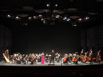 Concerto performance with the UNLV Symphony Orchestra (2017)