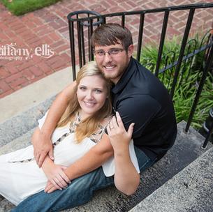 Allison & Tripp are Engaged!