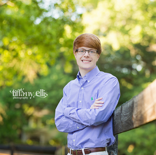 High School Senior - Blake