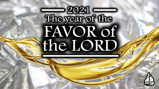 2021 The Year of Favor - Sermon Logo Sli