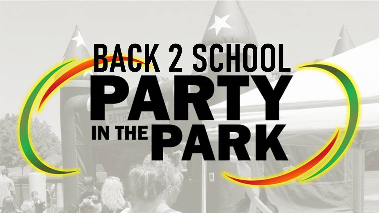 Back 2 School Party in the Park 1-32-21.