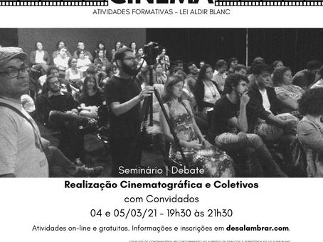 INSCRIÇÕES ABERTAS: SEMINÁRIO - 04 e 05/03/2021