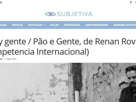 CRÍTICA REVISTA SUBJETIVA_ARGENTINA PÃO E GENTE   PAN Y GENTE Por Mariana Zabaleta