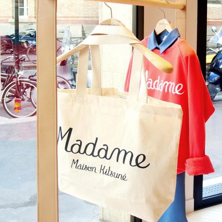 Maison Kitsuné - rue Madame