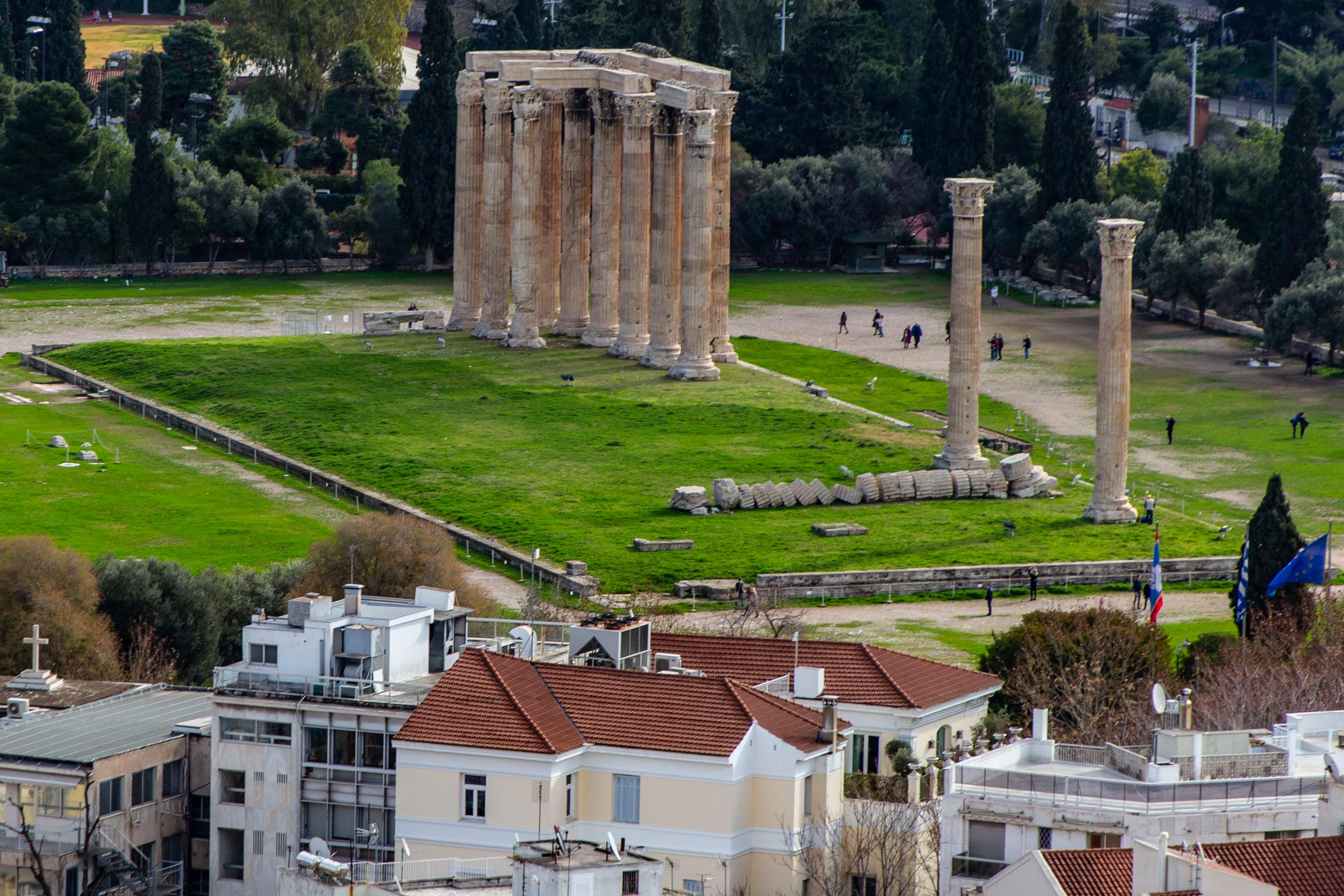 Templos de Zeus Olimpico