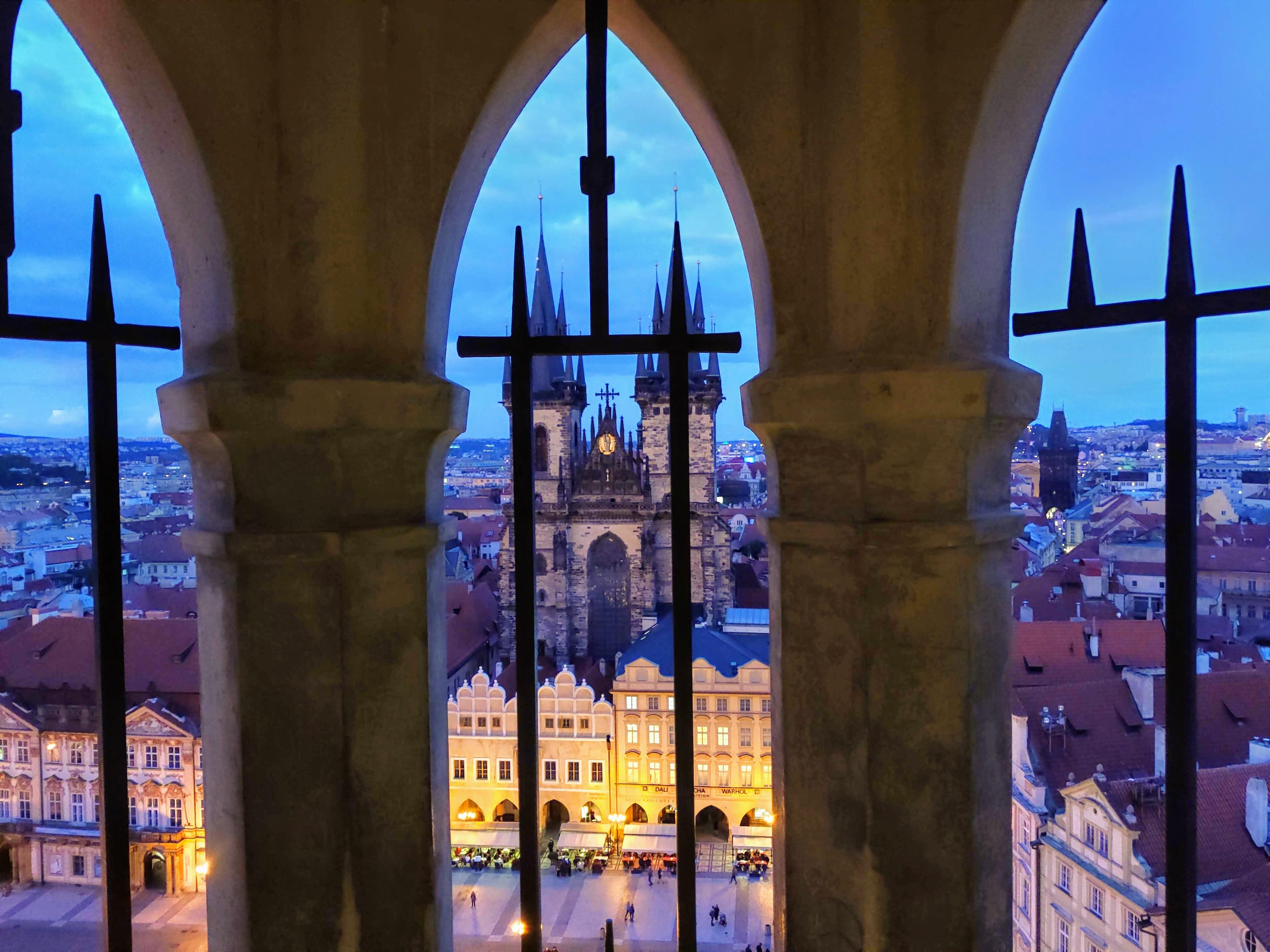 Vista da Torre do Relógio